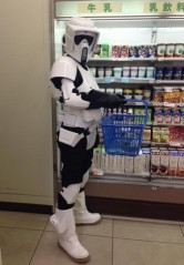 It's not easy shopping for over 700 thousand on the Death Star, some of them with allergies.