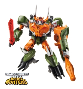 Transformers Prime Beast Hunters Commander Bludgeon