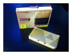 Nintendo 3DS XL Tri-Force Limited Edition Package