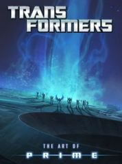 Transformers: Art of Prime Book Cover