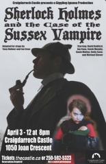 Holmes Sussex Vampire Poster