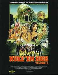 Return to Nuke 'em High 2 proper poster