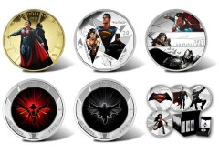 Royal Canadian Mint Superman v Batman