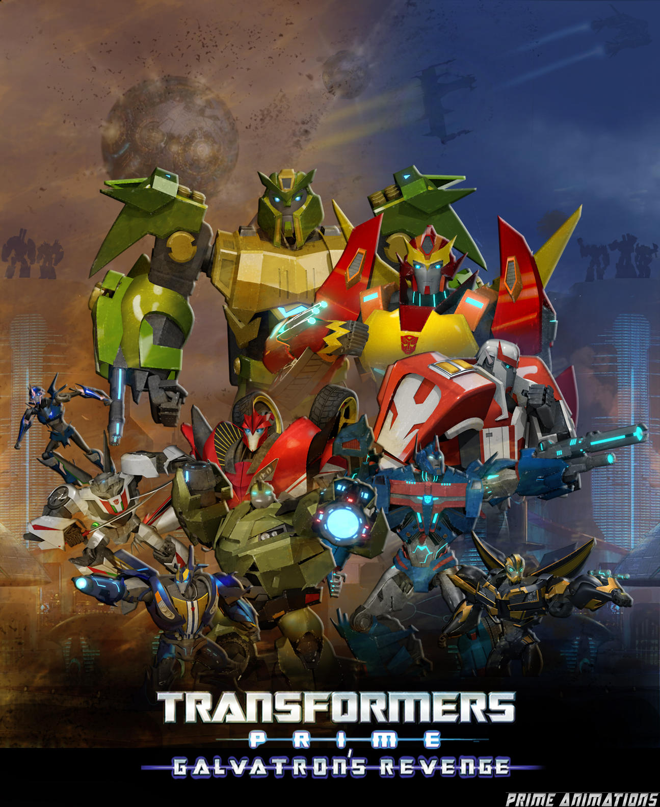 transformers prime: galvatron's revenge rolls out with a teaser