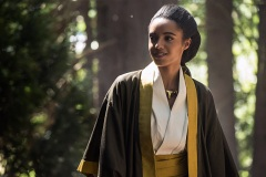 """DC's Legends of Tomorrow --""""Shogun""""-- Image LGN203b_0069.jpg -- Pictured: Maisie Richardson- Sellers as Amaya Jiwe/Vixen -- Photo: Dean Buscher/The CW -- © 2016 The CW Network, LLC. All Rights Reserved."""
