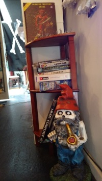 Need your Dungeons & Dragons? The Vorpal Gnome (located upstairs in Cavity) has it all! From 2nd Edition to the latest, Steve Saunders can get it!