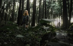 VICTORIA, B.C.: March 26, 2015 -- Jessica McLeod on the set of The Hollow ones at the BCIT Woodlot in Maple Ridge, B.C. March 26, 2015. (ARNOLD LIM, Arnold Lim Visuals).