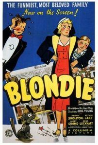 Blondie Movie Poster
