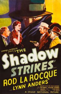 The Shadow Strikes Movie Poster