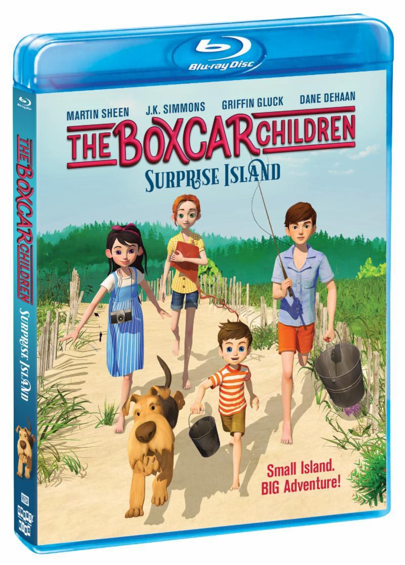 Bluray of Boxcar Children