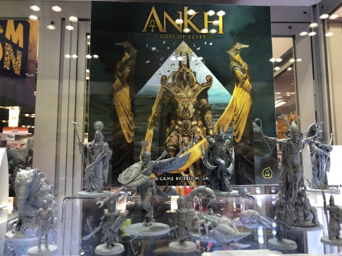 Ankh: Gods of Egypt Miniatures Showcase