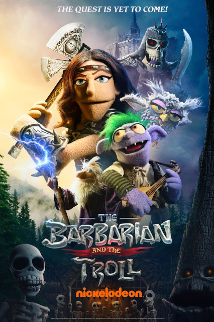 Nickelodeon to Premiere 'The Barbarian and the Troll' on Friday, April 2,  at 7:30 p.m. (ET/PT)""